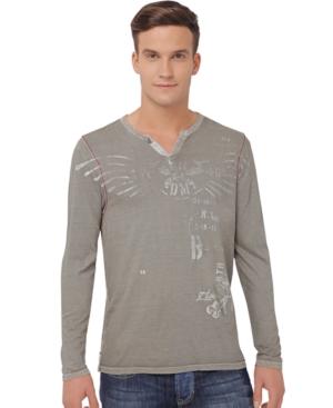 Buffalo David Bitton T Shirt, Nucam Graphic Long Sleeve