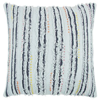 """22"""" x 22"""" Deconstructed Stripe Poly Filled Pillow"""