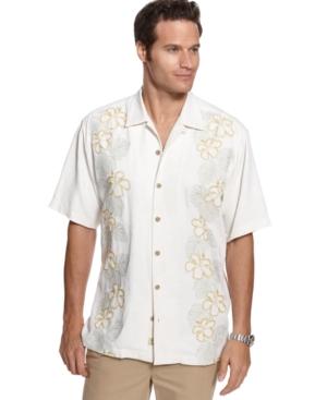 Tommy Bahama Shirt, Short Sleeve Read Between The Leis Shirt
