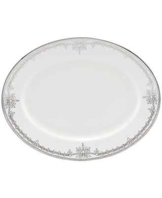 Marchesa by Lenox Dinnerware, Empire Pearl Oval Platter