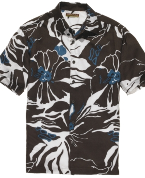 Cubavera Shirt, Tropical Print