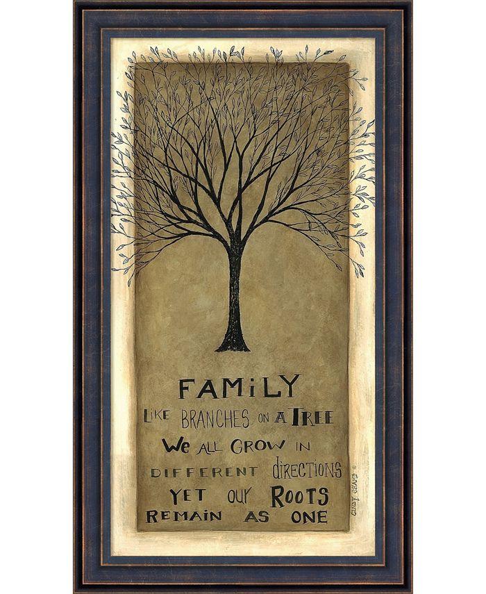 Amanti Art - Family Tree 9x16 Framed Art Print