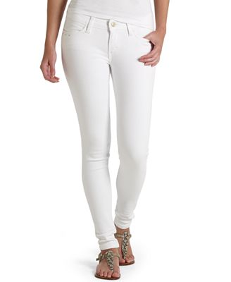 White Skinny Jeans For Juniors