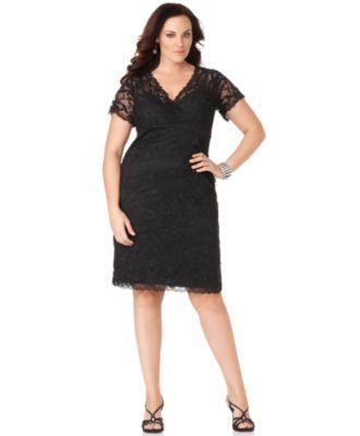 Black Lace Dress Buy A Black Lace Dress At Macy S