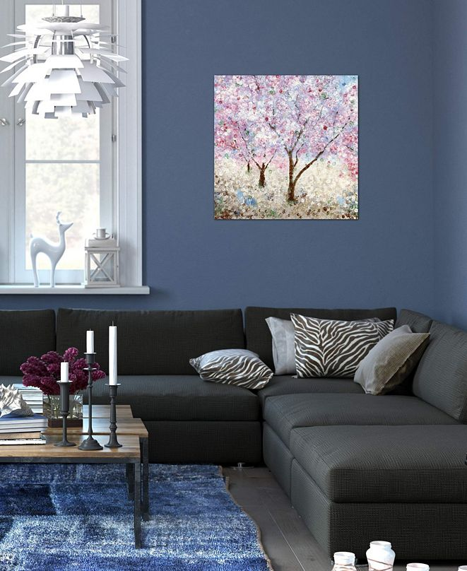 """iCanvas """"Cherry Blossom Festival II"""" by Katrina Craven Gallery-Wrapped Canvas Print"""