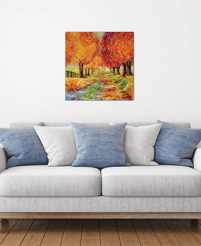 """iCanvas """"Going Home"""" by Kimberly Adams Gallery-Wrapped Canvas Print"""