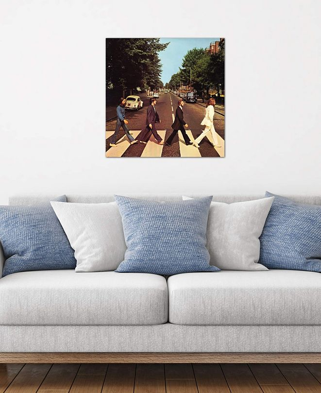 "iCanvas ""Abbey Road"" by Radio Days Gallery-Wrapped Canvas Print (18 x 18 x 0.75)"