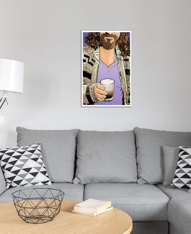"""iCanvas """"The Dude"""" by Joshua Budich Gallery-Wrapped Canvas Print (40 x 26 x 0.75)"""