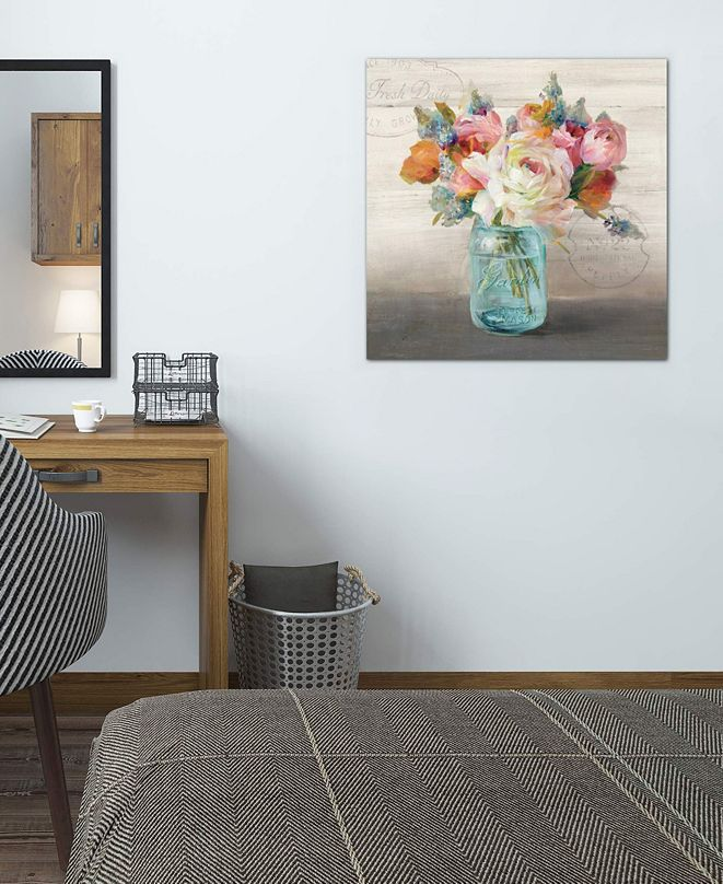"iCanvas ""French Cottage Bouquet II"" by Danhui Nai Gallery-Wrapped Canvas Print (26 x 26 x 0.75)"