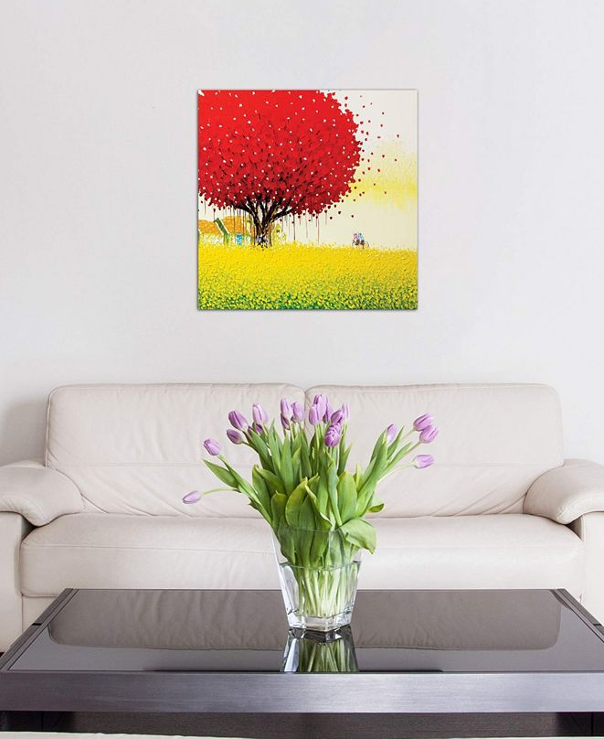 "iCanvas ""Golden Season"" by Phan Thu Trang Gallery-Wrapped Canvas Print (26 x 26 x 0.75)"