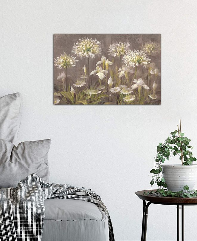"""iCanvas """"Spring Blossoms"""" by Danhui Nai Gallery-Wrapped Canvas Print (26 x 40 x 0.75)"""