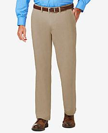 J.M. Haggar Men's Luxury Comfort Classic-Fit Performance Stretch Casual Pants