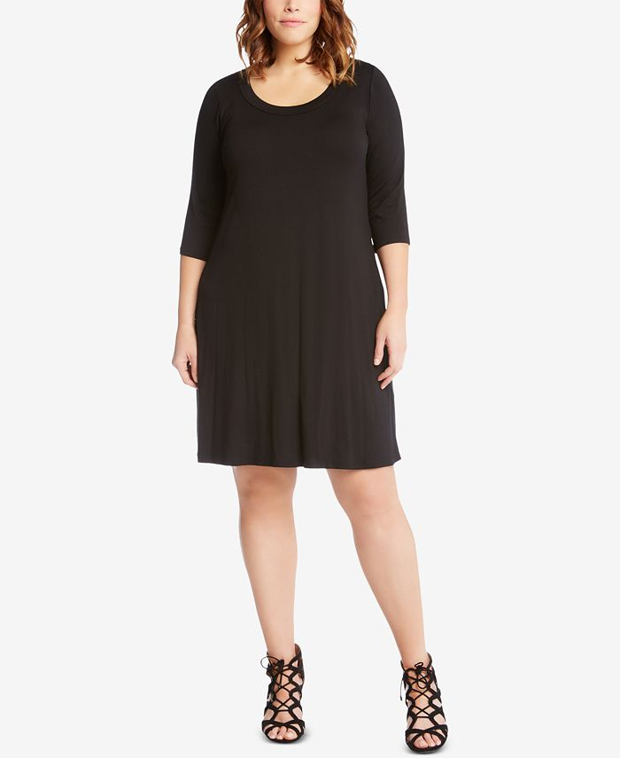 Karen Kane - Plus Size A-Line Dress