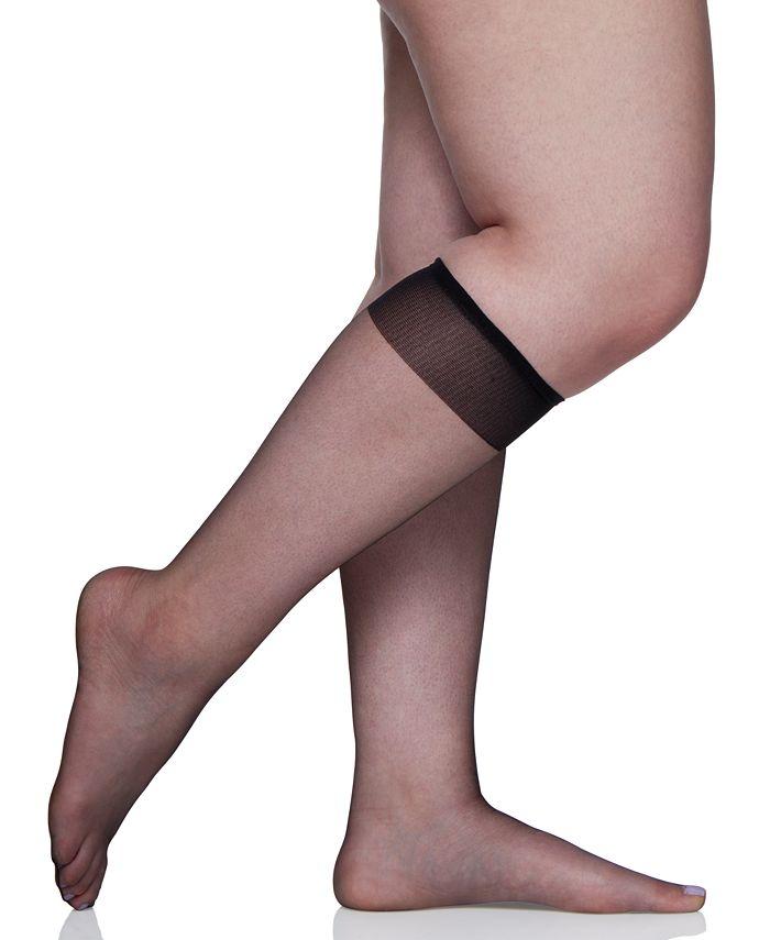 Berkshire - Plus Size Ultra Sheer Knee Highs Hosiery