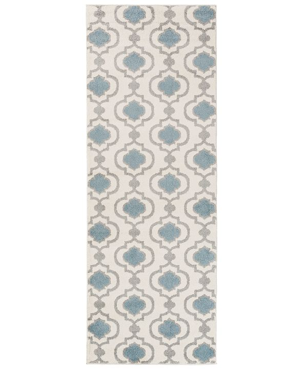 "Surya Horizon HRZ-1021 Denim 2'7"" x 7'3"" Area Rug"