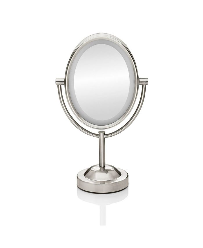 Conair - Double-Sided Lighted Oval Mirror