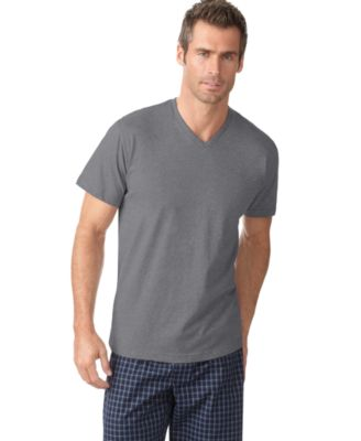 Image of Alfani Men's V-Neck T-Shirt, Only at Macy's