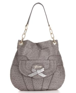 GUESS Handbag, Super Sleek Hobo