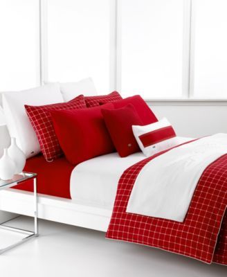 Lacoste Bedding, Denab Full/Queen Pique...