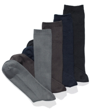 Club Room Socks, Ribbed Dress Socks