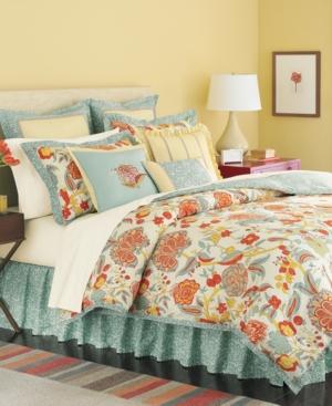 Martha Stewart Collection Bedding, Elizabetha 6 Piece King Comforter Set Bedding