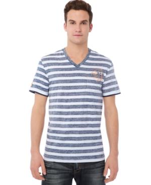 Buffalo David Bitton Shirt, N-aven Striped T Shirt