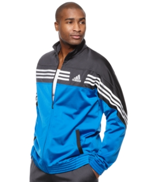 adidas Jacket, Raise Up Tricot Track Jacket