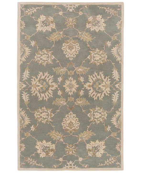 Surya Caesar CAE-1156 Medium Gray 5' x 8' Area Rug