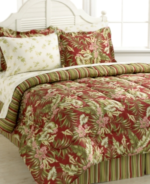 Martinique 8 Piece Reversible Bedding Ensembles