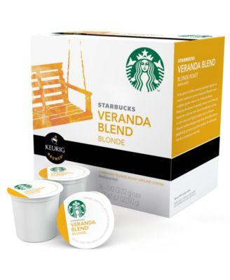 Keurig 9514 K-Cup Portion Packs, 16 Count Starbucks Veranda Blend