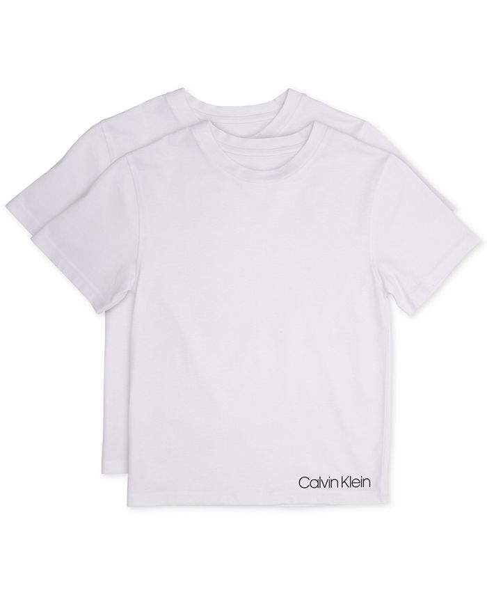 Calvin Klein - Little and Big Boys' T-Shirt, 2-Pack