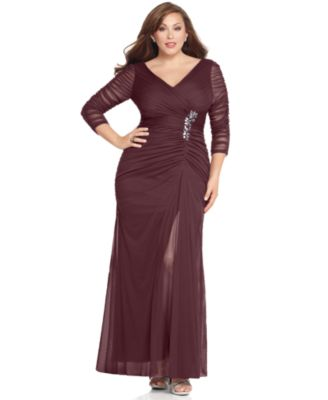 Plus Size Mother Of The Bride Dresses Macy S High Cut Wedding Dresses