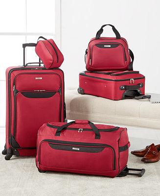 Take 79% off this 5-piece luggage set