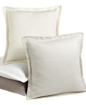 "Barbara Barry Bedding, Cloud Nine 18"" Square Decorative Pillow Bedding"