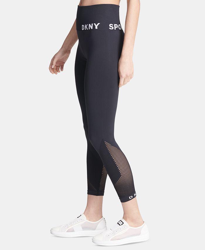 DKNY - High-Waist Seamless Ankle Leggings