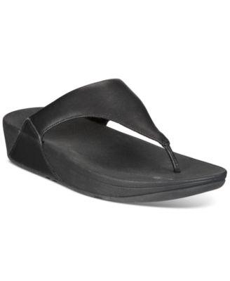 FitFlop Lulu Leather Toepost Flip-Flop