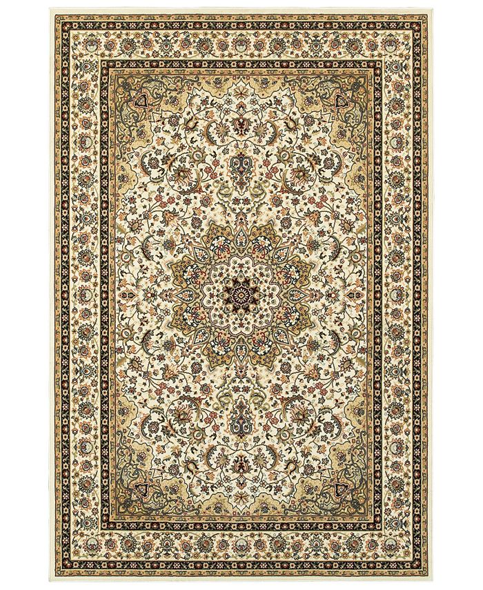 "Oriental Weavers - Kashan 119W Ivory/Beige 7'10"" x 10'10"" Area Rug"