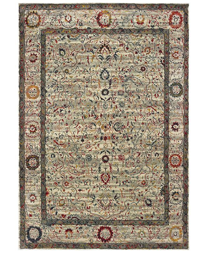 "Oriental Weavers Mantra 1905W Ivory/Multi 7'10"" x 10'10"" Area Rug"