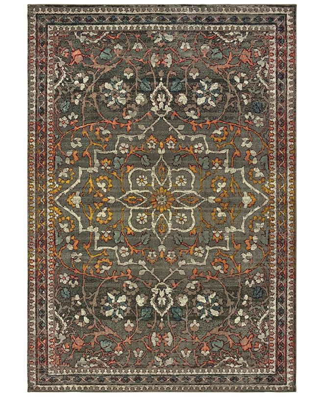 "Oriental Weavers Mantra 4929 6'7"" x 9'6"" Area Rug"