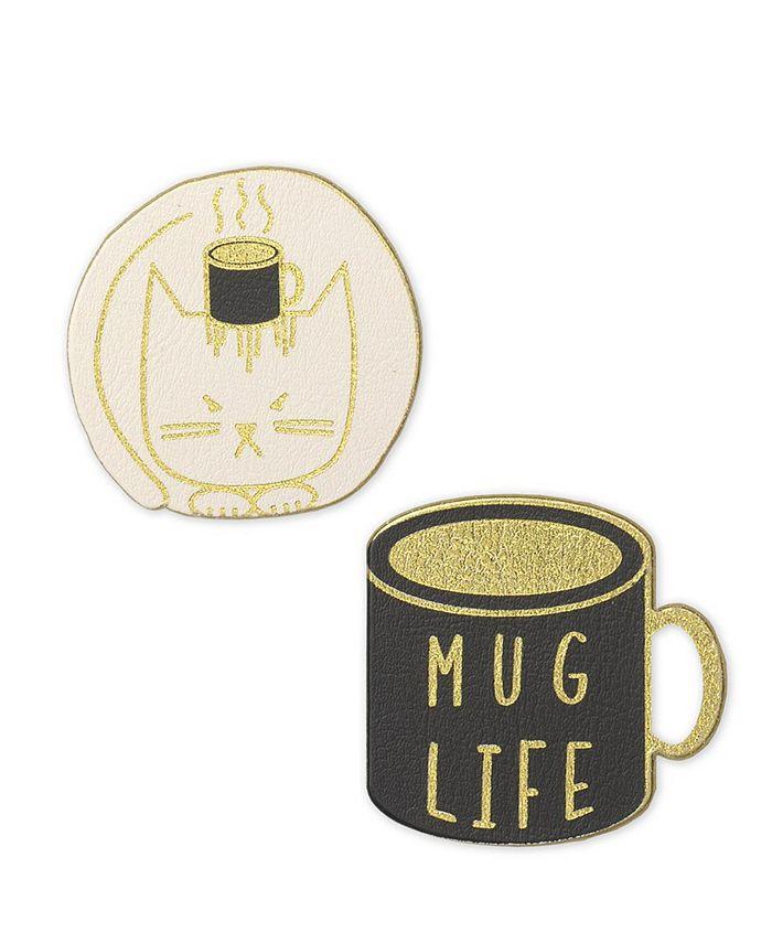 Mara-Mi - Vegan Leather Mug Life Patch Set