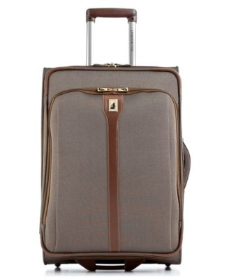 "London Fog Oxford II 25"" Rolling Expandable Suiter Suitcase"