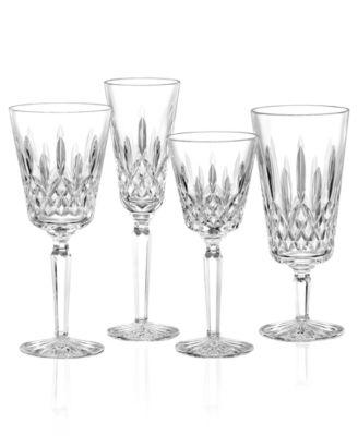 Stemware, Lismore Tall Wine Glass