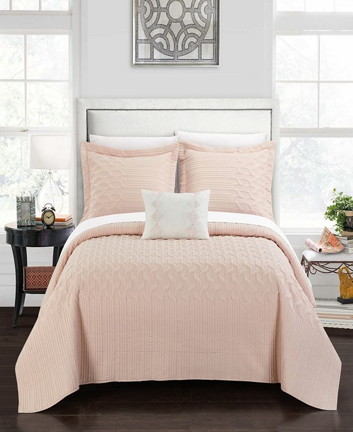 Chic Home - Shalya 4-Pc. Quilt Sets