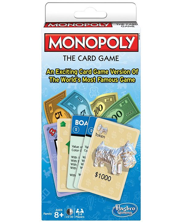 Winning Moves Monopoly - The Card Game