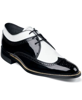Stacy Adams Dayton Wing-Tip Lace-Up