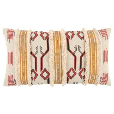 "14"" x 26"" Tribal Design Down Filled Pillow"