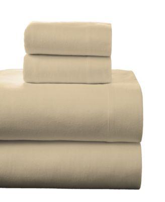 Superior Weight Cotton Flannel Sheet Set - Twin