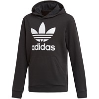 Adidas Big Boys Logo-Print French Terry Hoodie Deals