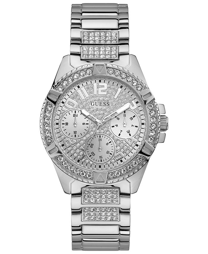 GUESS - Women's Lady Frontier Stainless Steel Bracelet Watch 40mm