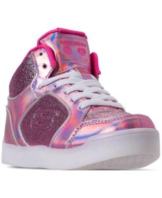 pink light up sketchers